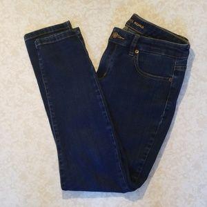 Michael Kors Izzy Skinny Jeans Blue Denim Size 8
